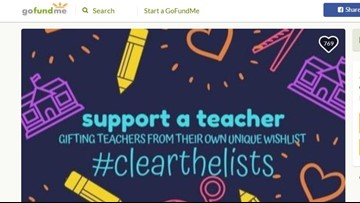 Teachers grateful for strangers buying them school supplies in viral online campaign