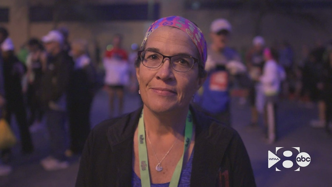 After life-changing diagnosis, North Texas woman completes 100 marathons
