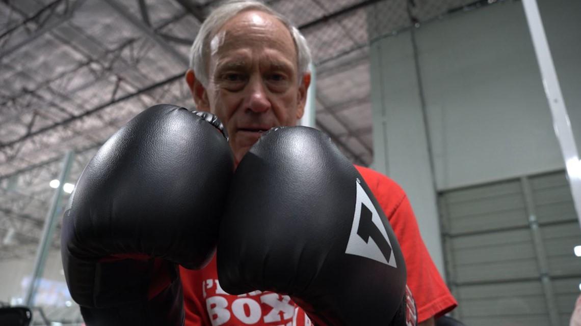 Boxing classes help Parkinson's patients fight their symptoms