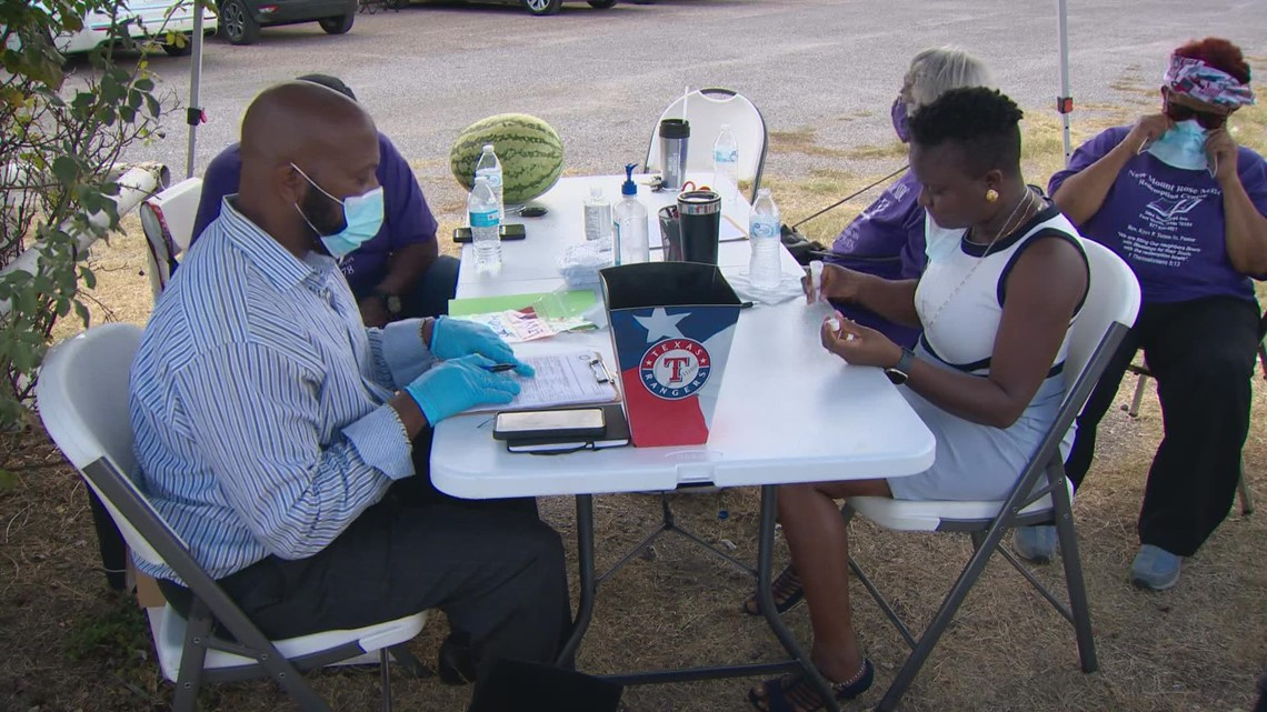 COVID testing desert: One North Texas church is stepping up to make its community gets tested