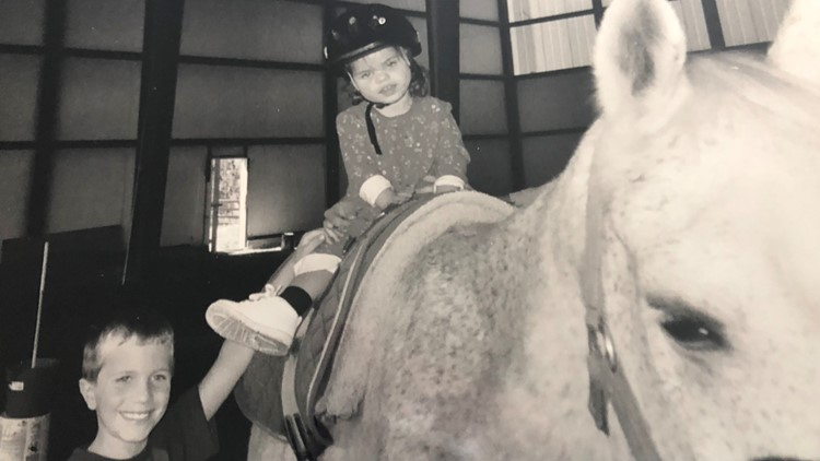 Jayme on a horse