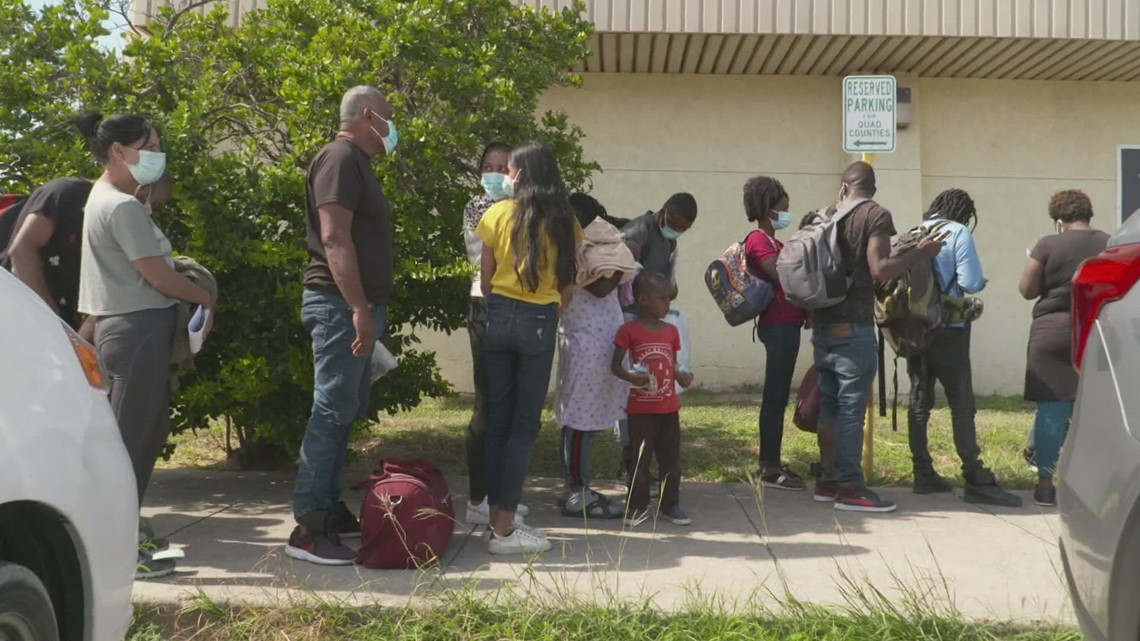 Haitian migrants from border camp moved to Houston, other Texas cities, US officials confirm