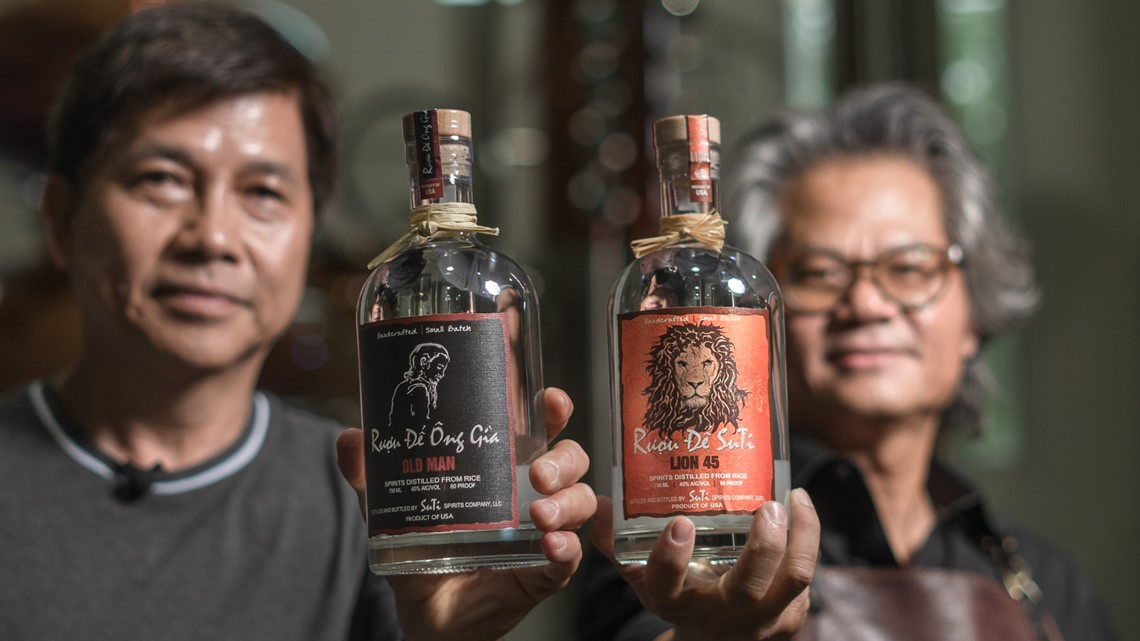 Two Vietnamese Americans create traditional rice liquor, only found in Kennedale, Texas