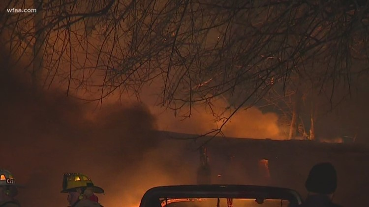 62-year-old man, 59-year-old woman dead in south Dallas County fire