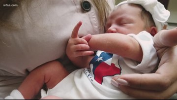 Pregnant Florida woman who came to Texas to escape Hurrican Dorian gives birth in Fort Worth