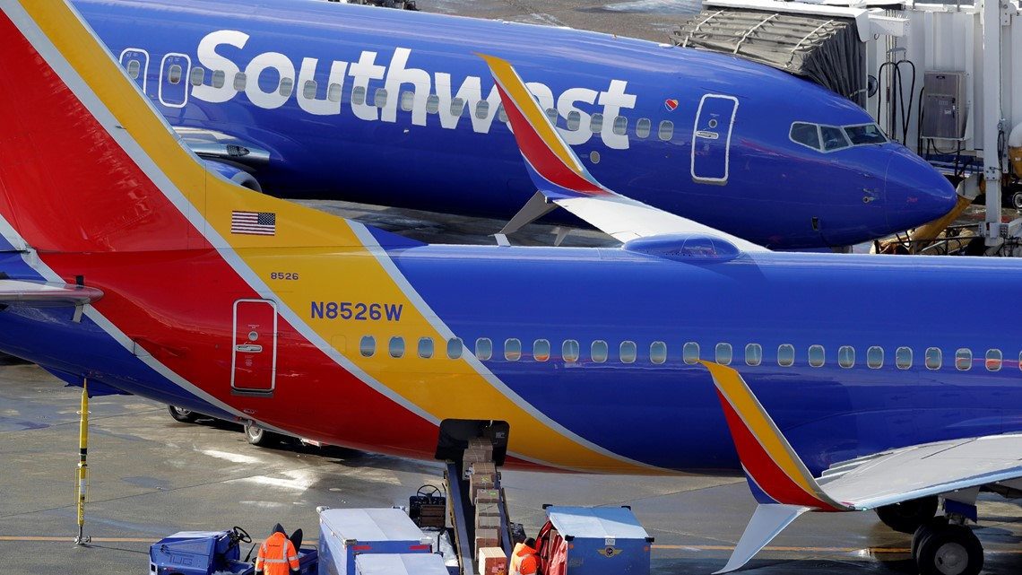 Southwest Airlines to suspend Dallas Love Field operations tonight due to forecasted storms - WFAA.com
