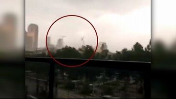 Eyewitness video offers clue about deadly crane collapse