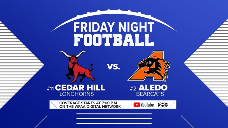 State powers Cedar Hill, Aledo square off in livestreamed matchup