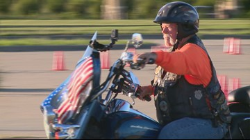 After stroke stole his words, Plano man can still ride