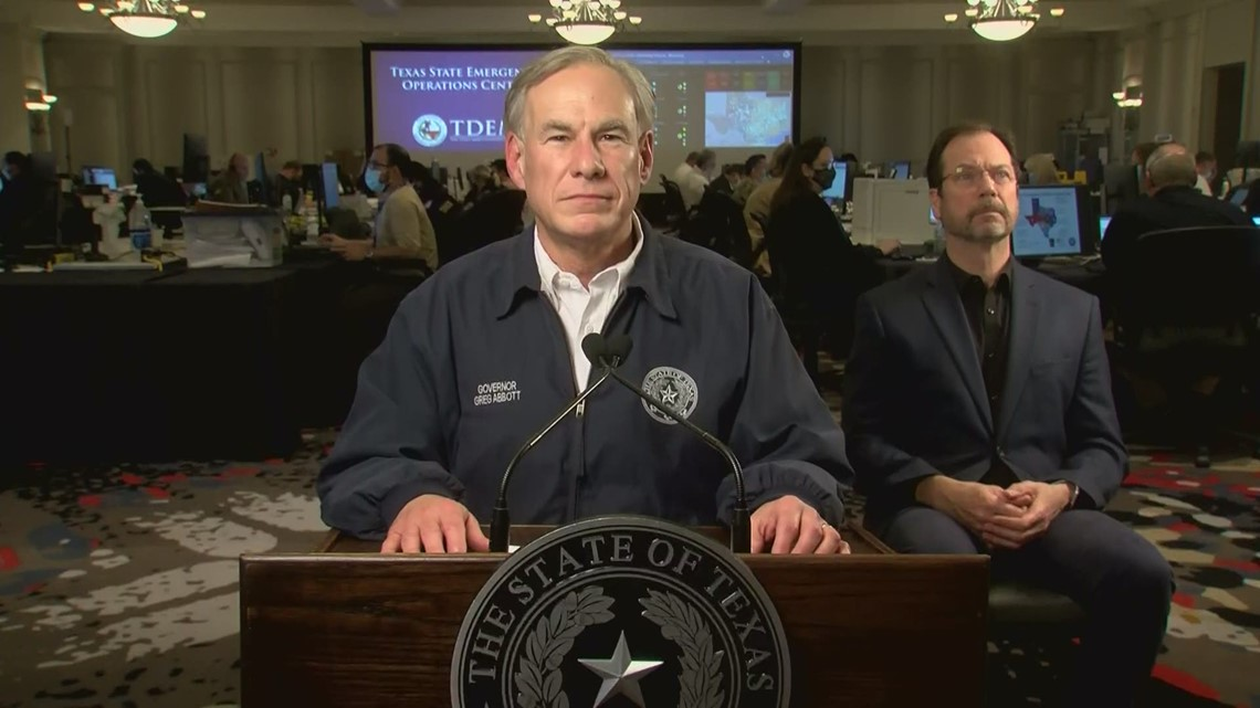 'You deserve answers': Gov. Abbott addresses state on outages, water crisis after winter storm