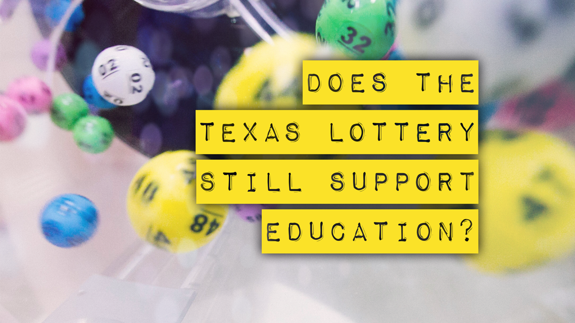 Does the Texas Lottery still support education?
