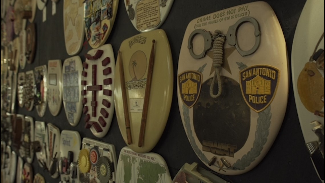 Texas' Weirdest Museums: Toilet Seat Museum is a real work of art