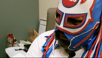 WFAA Original: The man behind the 'Pancho Billa' mask