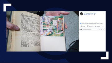 After 45 years, someone just returned a rare copy of 'The Hobbit' to UNT's library