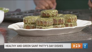 Healthy and green Saint Patrick's day dishes