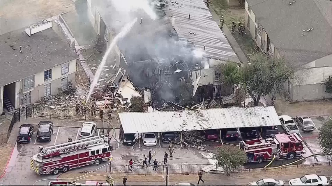 Man faces several charges after police determine cause of Dallas apartment explosion