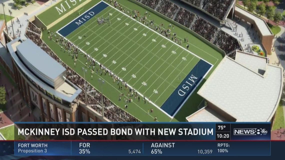 mckinney isd passes bond with new stadium