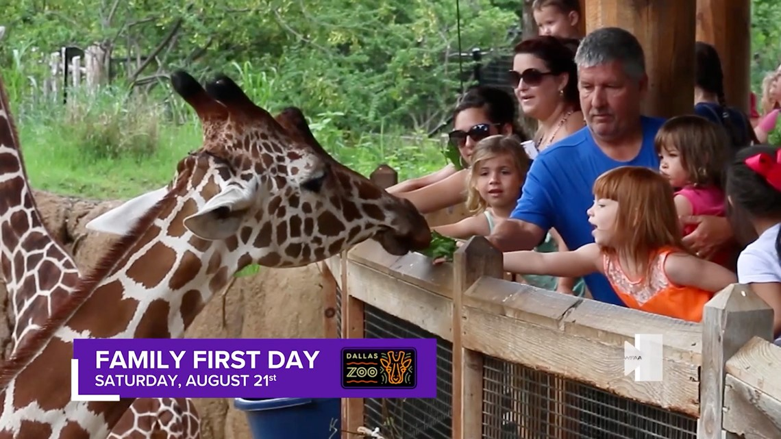Family First Day at the Dallas Zoo