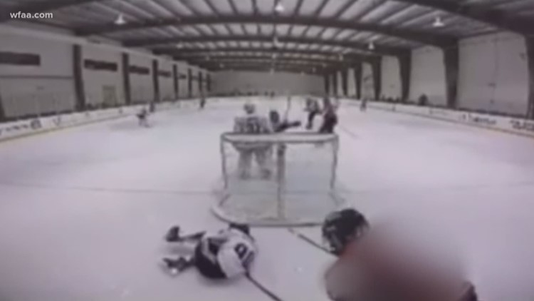 70351ede847 WATCH  Teen suspended from USA Hockey play after nasty attack during ...