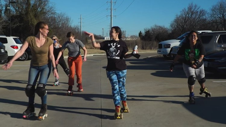Roller-skating resurges in popularity during the COVID-19 pandemic