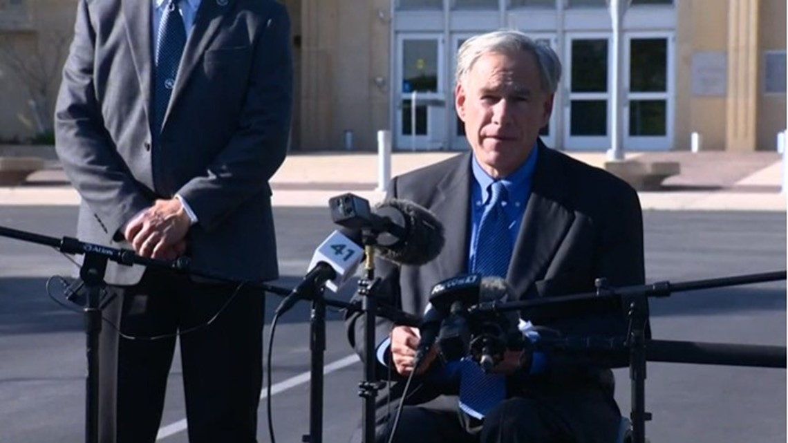 Gov. Abbott says state agencies received reports of abuse at San Antonio   facility for migrant children