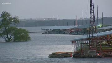 Lake Grapevine: Lake levels affecting holiday plans