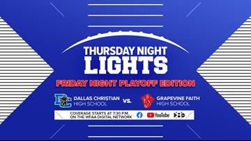 Thursday Night Lights: Dallas Christian vs. Grapevine Faith