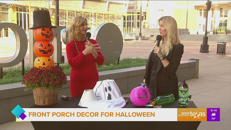 Upcycle to create Halloween decor