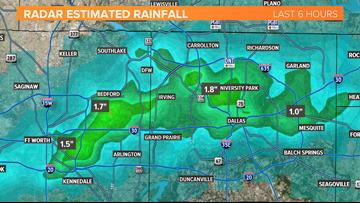 Heavy rainfall Thursday morning, more widespread rain expected Friday