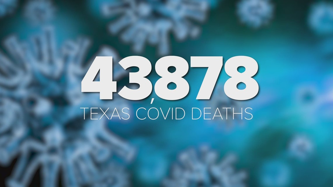 Nearly 44,000 deaths in 12 months: March 4 marks one year since first COVID-19 case in Texas