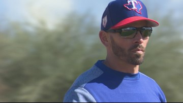 Rangers Spring Training: 1-on-1 with manager Chris Woodward