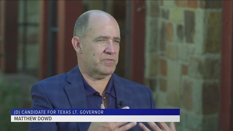 Q&A with Texas Democratic lieutenant governor candidate Matthew Dowd