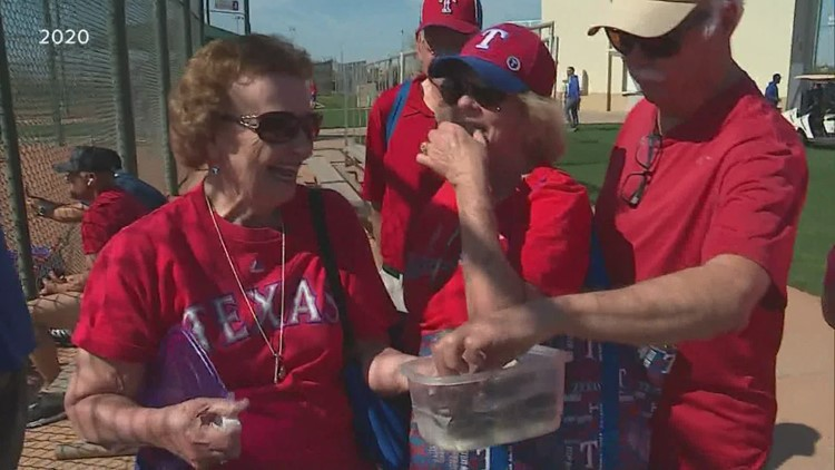 Dale's Extra Point: Remembering Shirley Kost, the Rangers' Cookie Lady