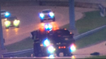 Fort Worth PD officer injured at accident scene