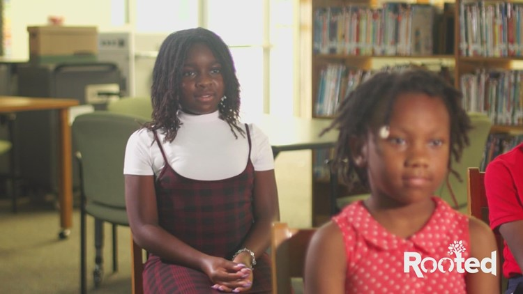 Rooted: Children celebrate World Afro Day