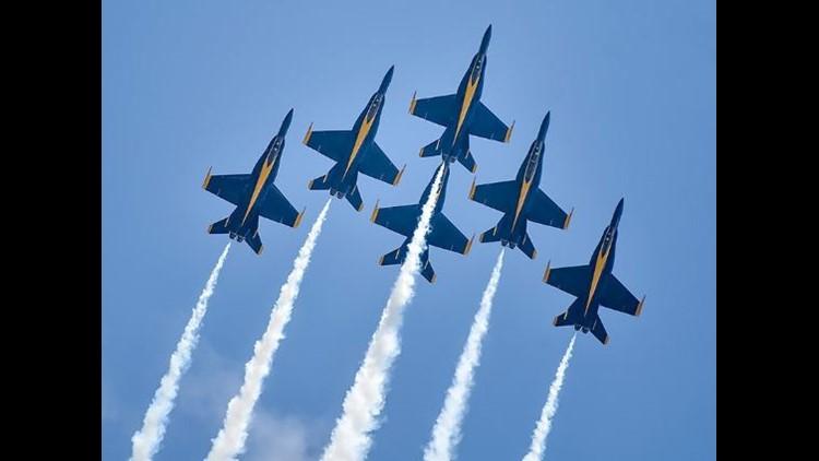U S NAVY BLUE ANGELS FLIGHT SQUADRON