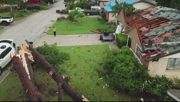 4th tornado from Sunday's storms confirmed in Farmers Branch, National Weather Service says