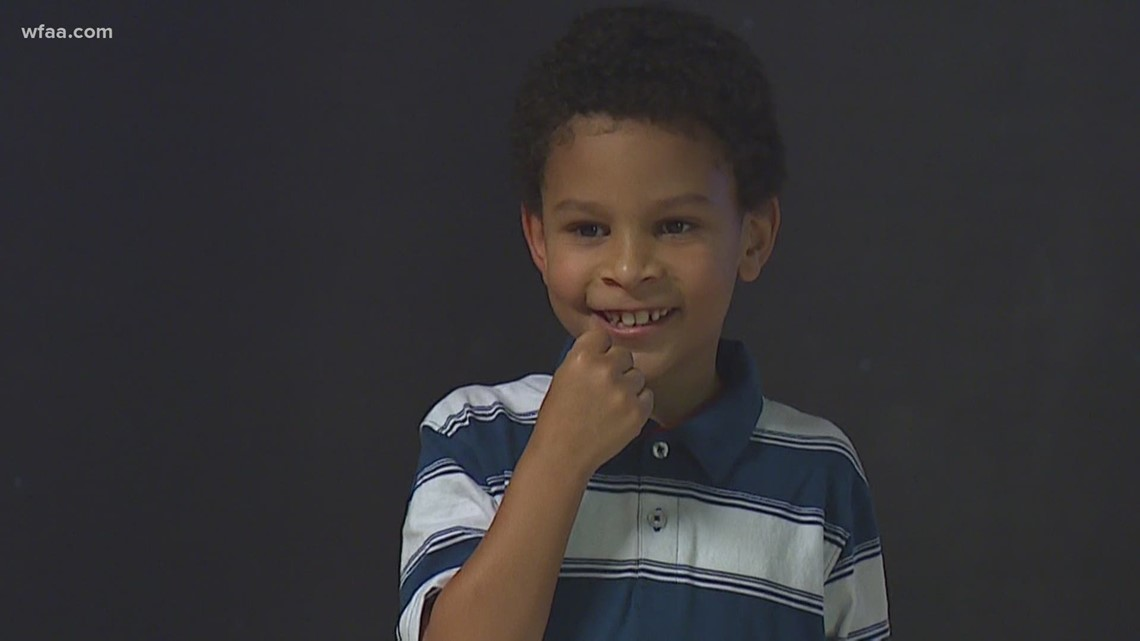 Wednesday's Child: 9-year-old Pearce spent 6 years in foster care, but he's adopted now