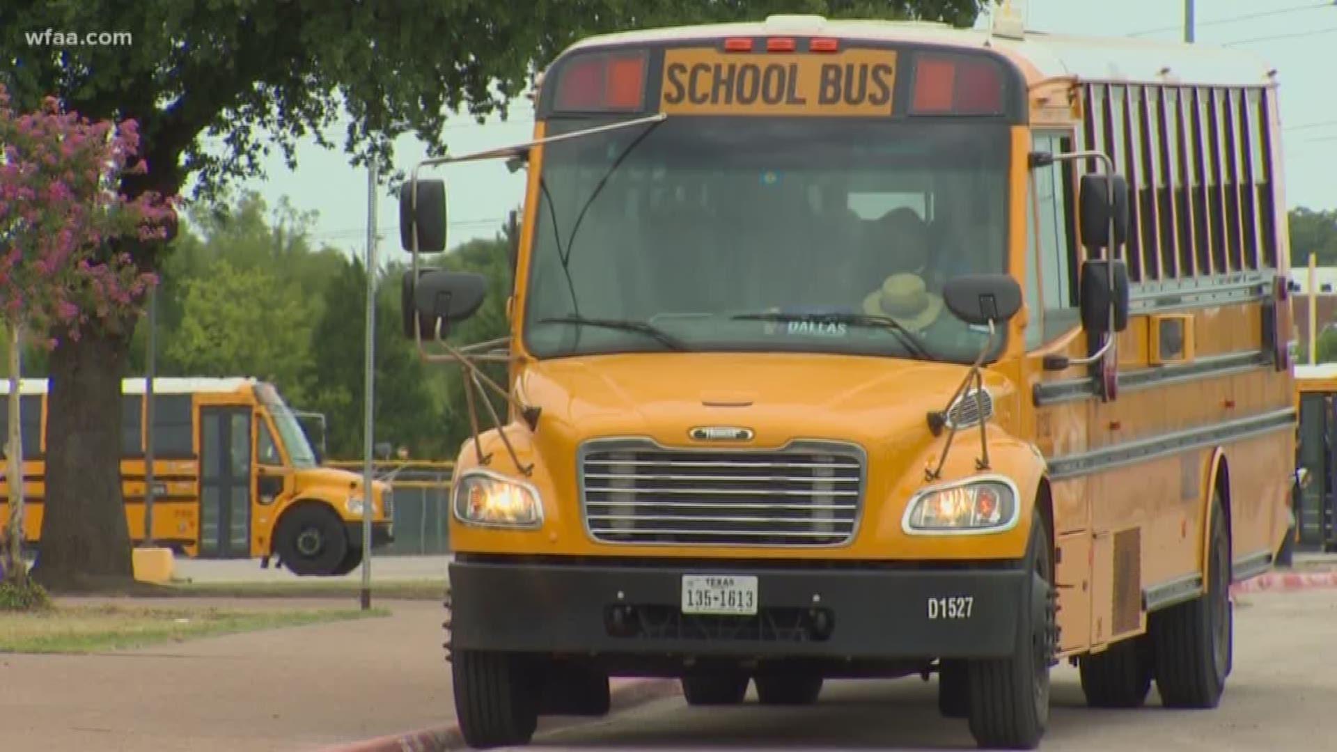 Dallas Isd Bus Driver Shortage Causing Delays Wfaa Com