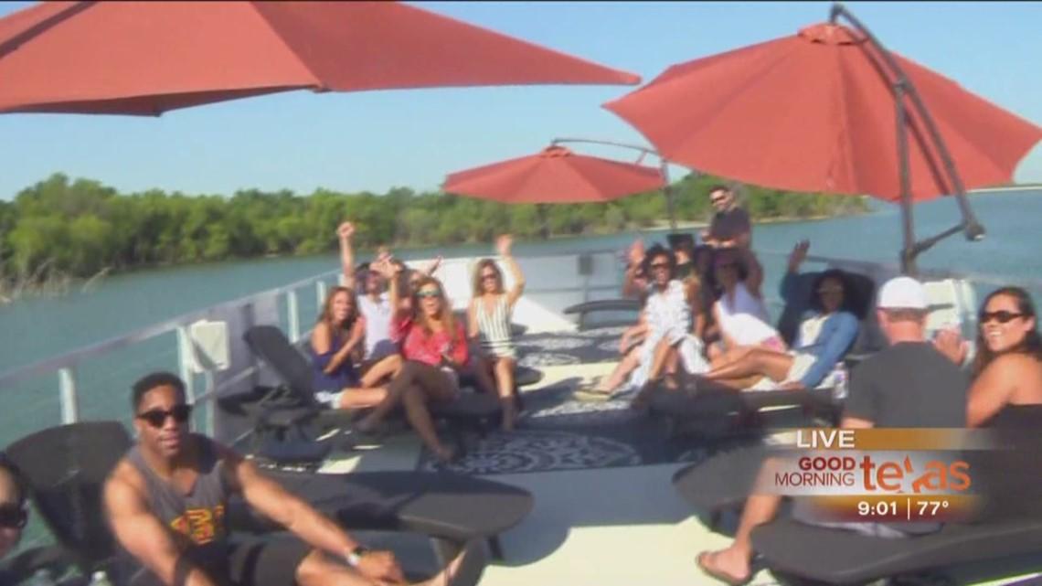 gmt party big kahuna boat bash on joe pool lake