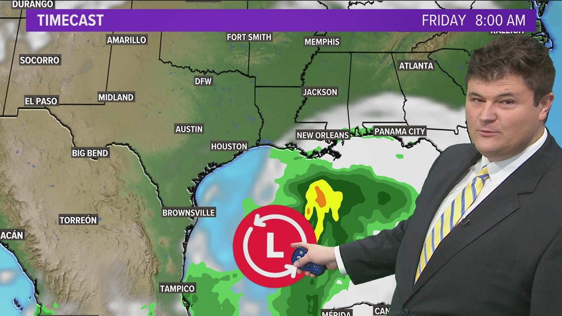 Monitoring the tropics: Claudette may form this week and affect parts of the Gulf Coast