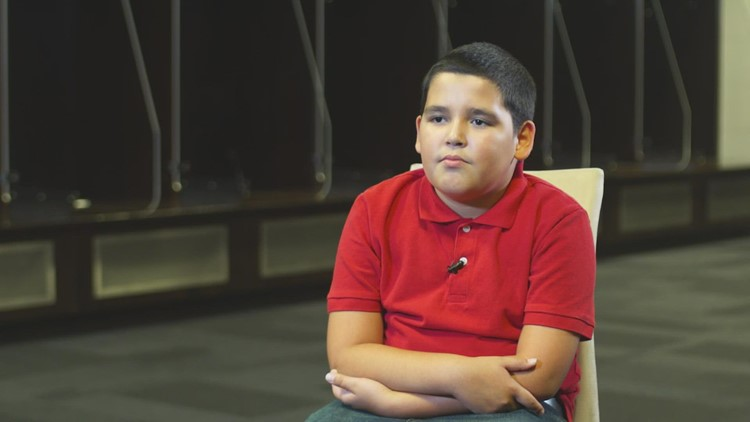 'I'm good at loving people': Wednesday's Child, 10-year-old Markes dreams of finding his forever family