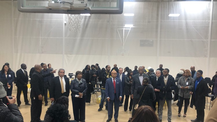 South Oak Cliff High School opening