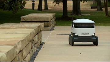 Order up! Robots now delivering food at UT Dallas
