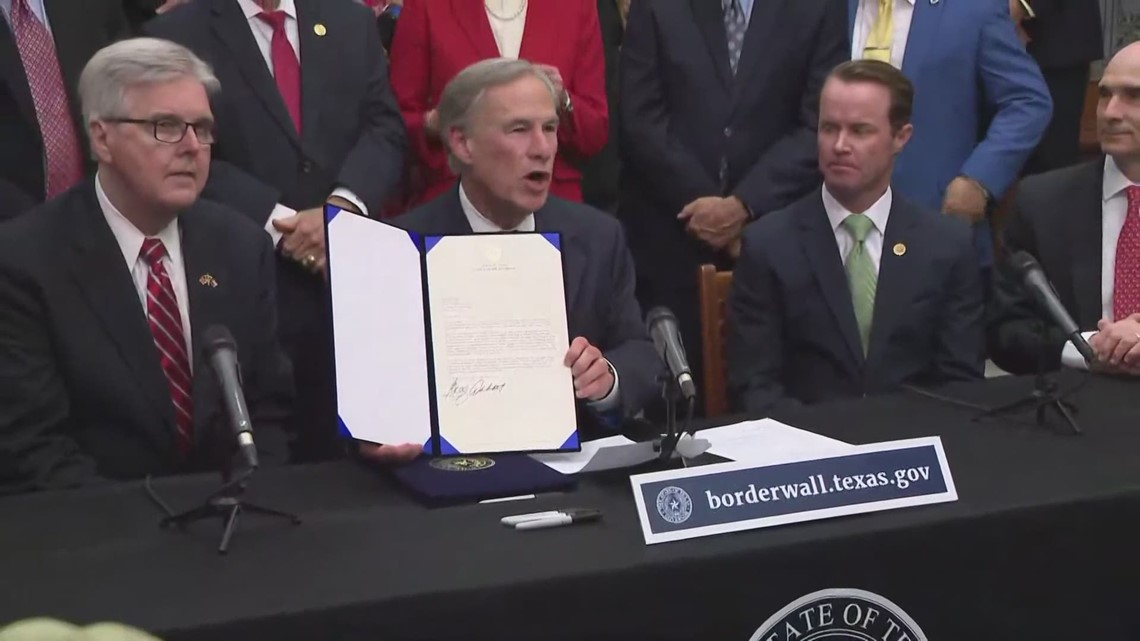 Gov. Abbott says $250M allocated for Texas border wall; state sets up donation website