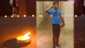 Family and friends gather to remember 18-year-old killed in shooting at high school basketball game