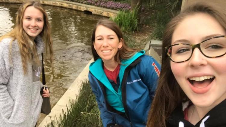A college field trip taken in March 2019