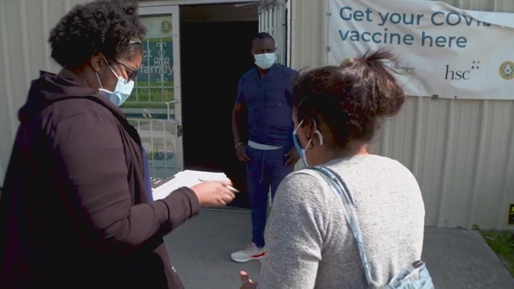 Doctors, Fort Worth neighborhood leaders combat COVID-19 vaccine hesitancy