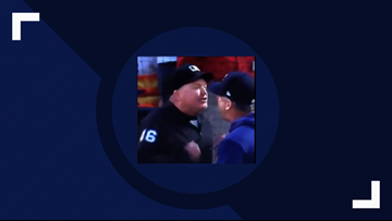 You're out! Umpire Ron Kulpa ejects Astros manager and hitting coach after argument during Rangers game