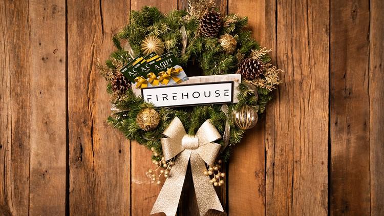 Firehouse Agency Wreath